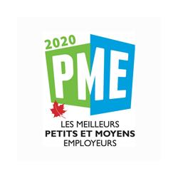 Logo Meilleur employeur PME 2020