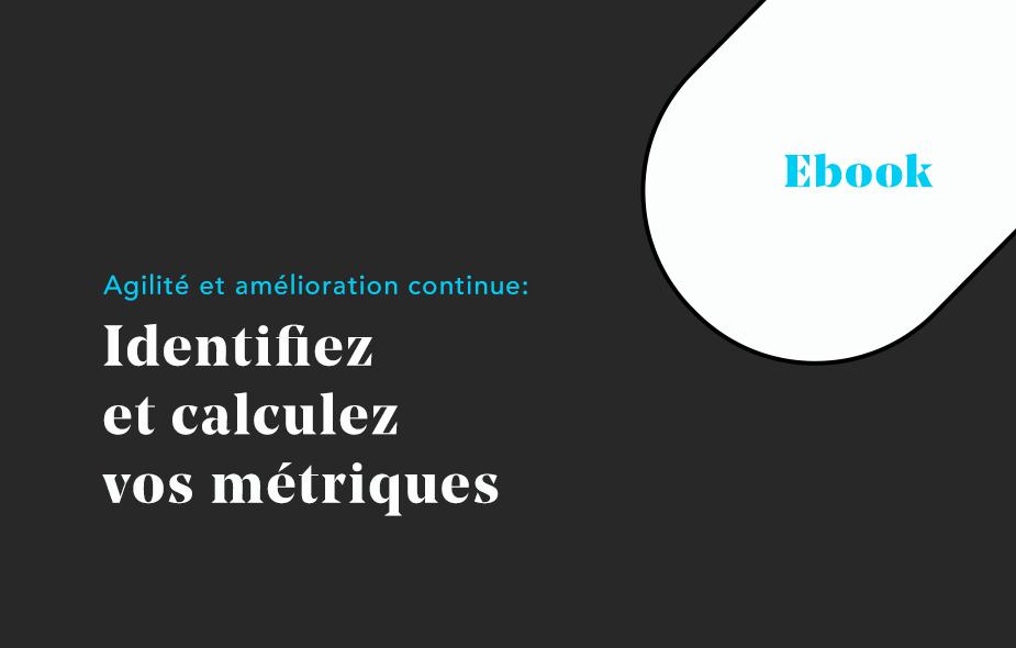 Annonce sortie Ebook Agilité et métriques