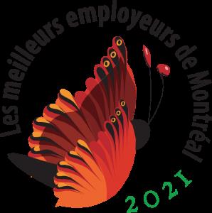 Logo Meilleur employeur Mtl 2021