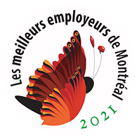 Logo Meilleur employeur Montréal 2021